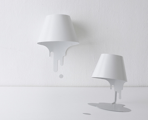 Drip Bookmark and Lamp