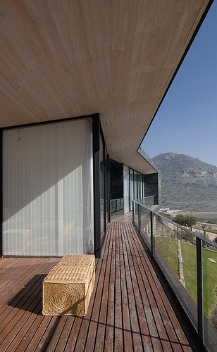 Binimelis Barahona House in Chile by Polidura + Talhouk Architects in architecture  Category
