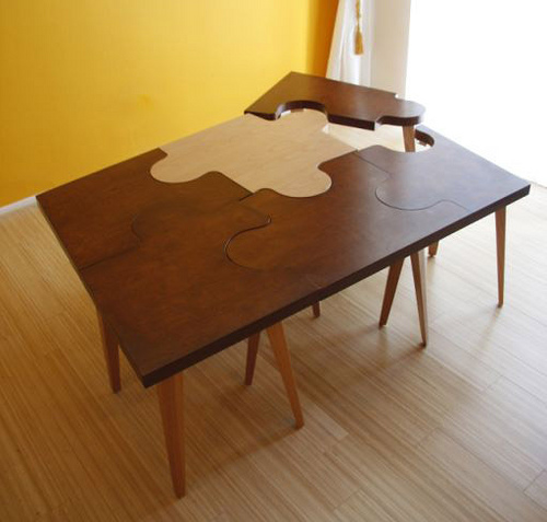 Puzzle Tables in main home furnishings  Category