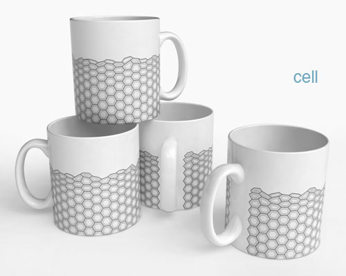 Hex Mugs in main home furnishings  Category