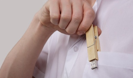 Clothes Pin Memory Stick in technology  Category