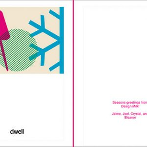 Custom Holiday Cards from Dwell