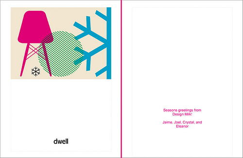 Custom Holiday Cards from Dwell in art  Category
