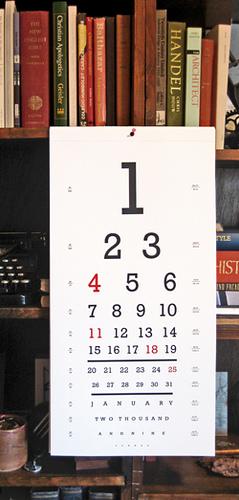 Seeing Eye Calendar