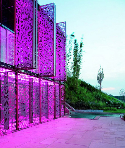 Color Changing House, Italy, by Italo Rota in main architecture  Category