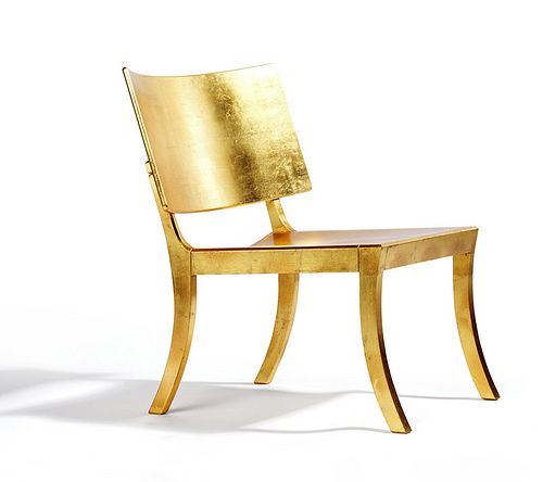Gold Chair in home furnishings  Category