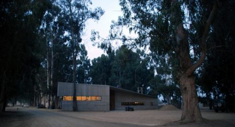 Fundo Izaro in Chile by Martin Hurtado Architects