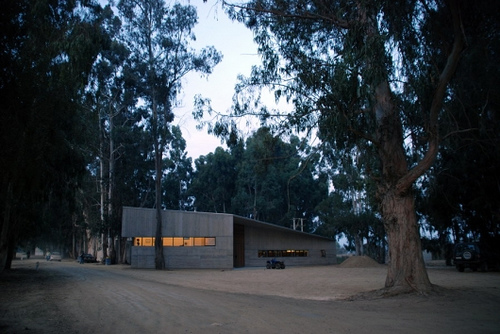 Fundo Izaro in Chile by Martin Hurtado Architects