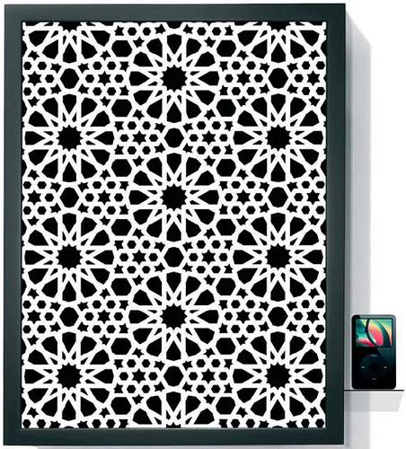 Superstar iPod Art Panel