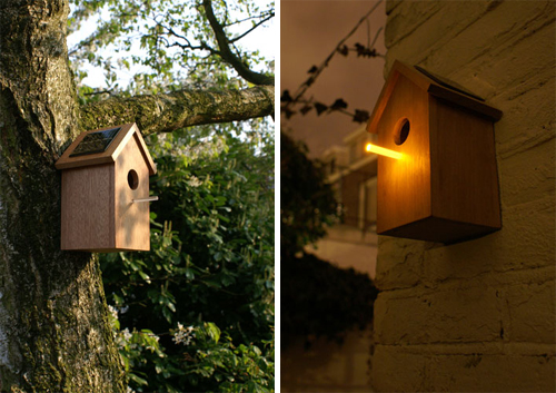 OOOMS Solar Birdhouse in home furnishings  Category