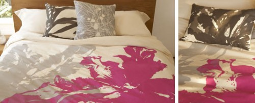 amenity fuschia bedding