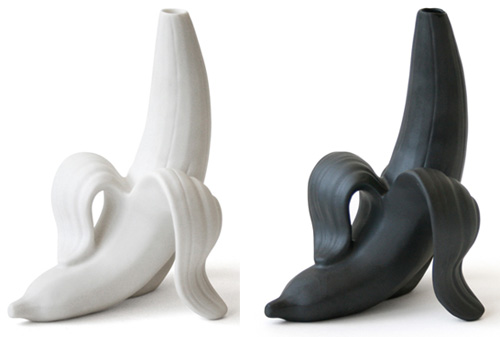 Banana Vase from Jonathan Adler