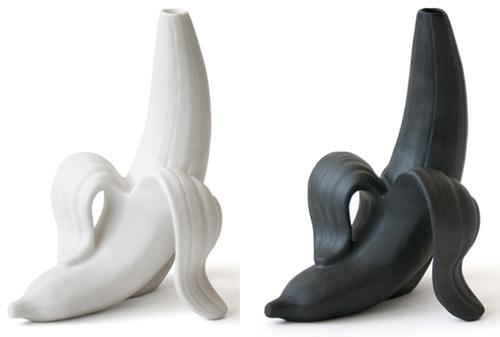 Banana Vase from Jonathan Adler