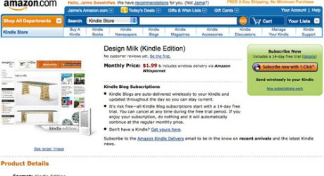 Design Milk on Kindle