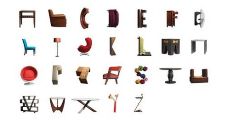 Furniture Alphabet