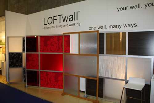 ICFF 2009 Spotlight: LOFTwall