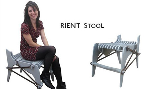Rient Stool in main home furnishings  Category