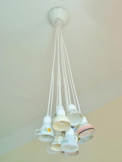 Teacup Chandelier in home furnishings  Category