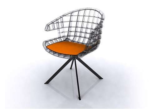 webs chair sintesi