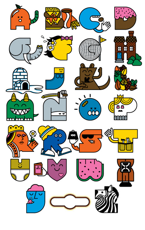 Alphabet Keychain in main art  Category