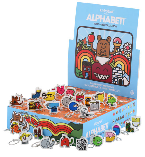 Alphabet Keychain in art  Category