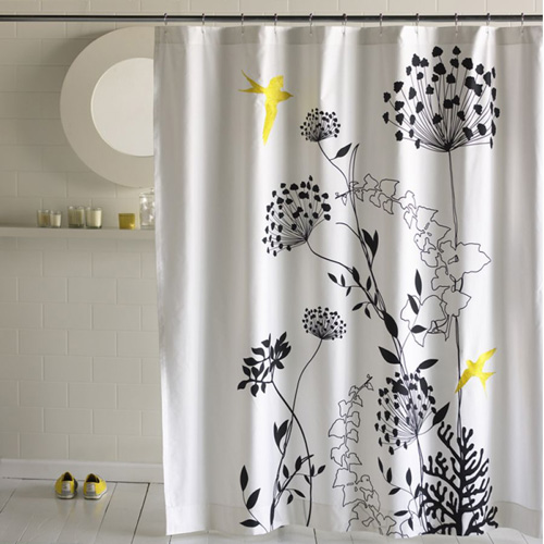 bliss living anis shower curtain