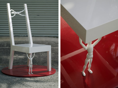 chair construction by michael wolk