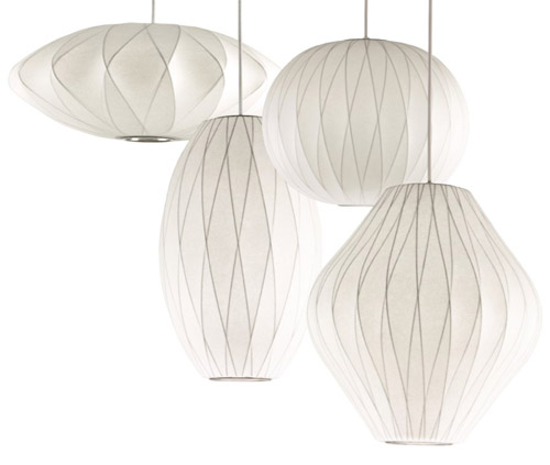 criss cross george nelson lamp