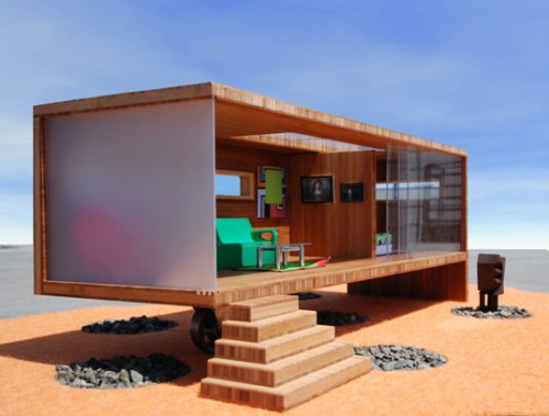 Modularean Eco Prefab Dollhouse in architecture  Category