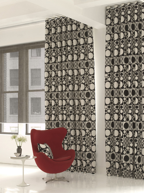 eames fabric curtains at the shade store