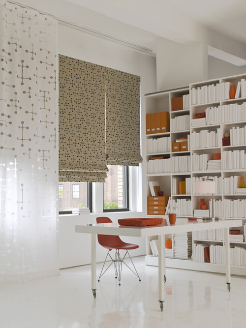 eames fabric blinds at the shade store