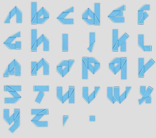 Handmade Font in main art  Category