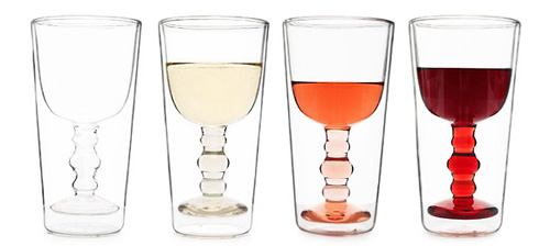 Illusion Wine Glasses