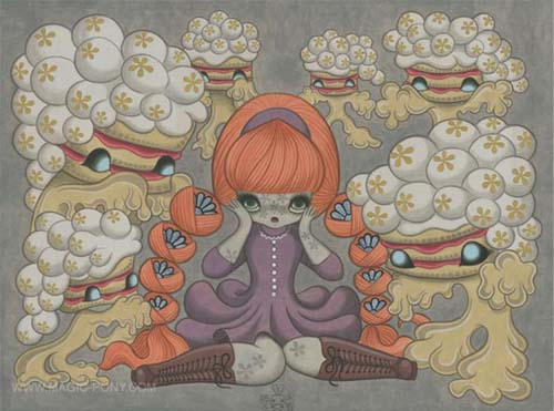 Junko Mizuno Solo Exhibition in art  Category