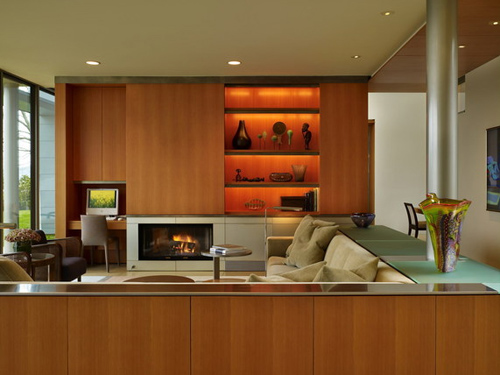 Lake Washington Residence, Seattle, by OSKAA