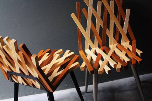 Weaving Wood in home furnishings  Category