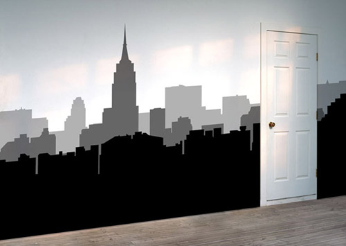 new york wallsticker