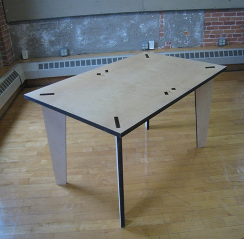 notch table by brendan ravenhill