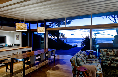 Raumati Beach House in New Zealand by Herriot + Melhuish in main architecture  Category