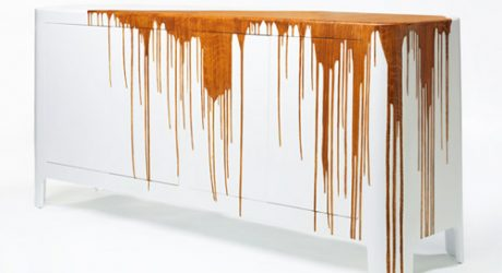 Textured Sideboard