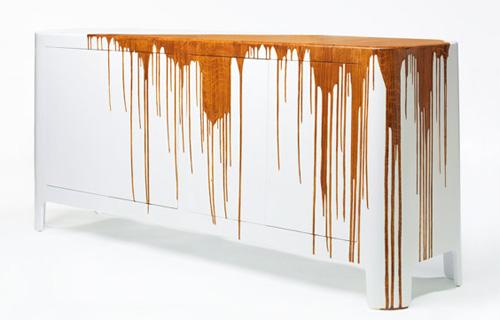 Textured Sideboard