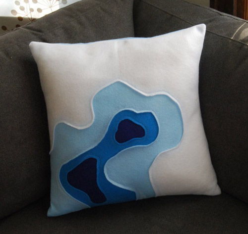 topography pillow