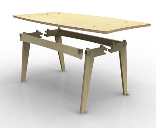 uni table by charlie davidson