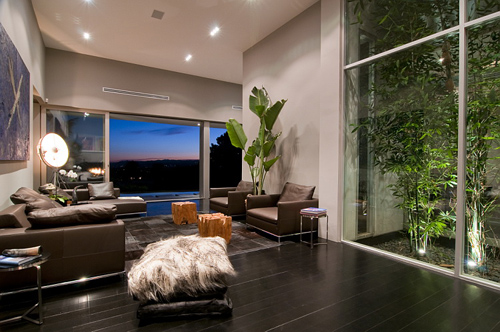 Nightingale Drive House in California by Marc Canadell in main interior design architecture  Category