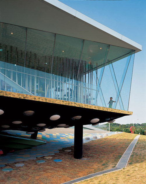 Dalki Theme Park and Shop in Korea by Slade Architecture in main architecture  Category