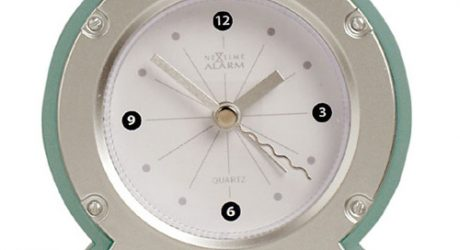 Long d dual time wall clock design milk for Dual time wall clock