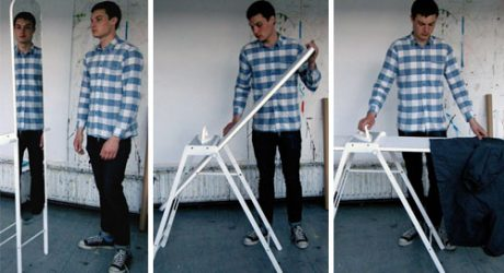 Ironing Board Mirror