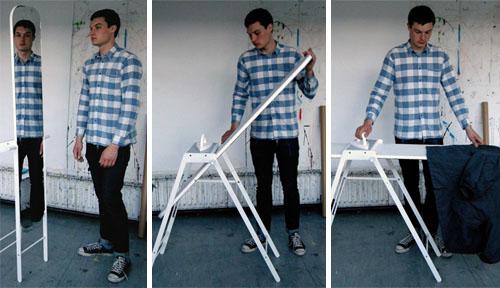 ironing mirror