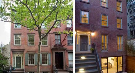 Jane Street Townhouses in New York by Murphy Burnham & Buttrick