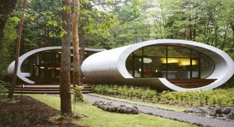Shell House in Japan by ARTechnic
